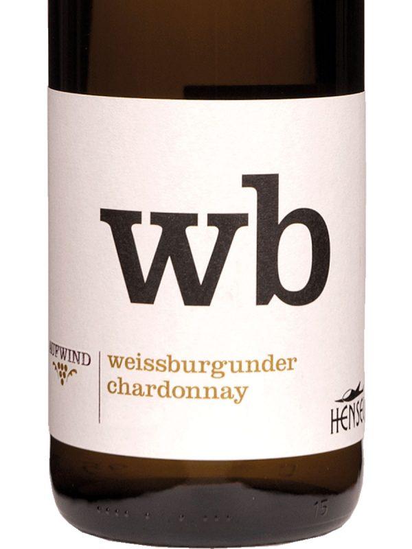 Weinhaus-hensel-weissburgunder-chardonnay-aufwind-etiket