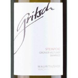 steinporz-gruner-veltliner-wachau-fj-gritsch-etiket